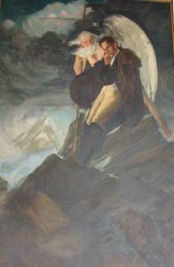 Delirio sobre el Chimborazo de Tito Salas